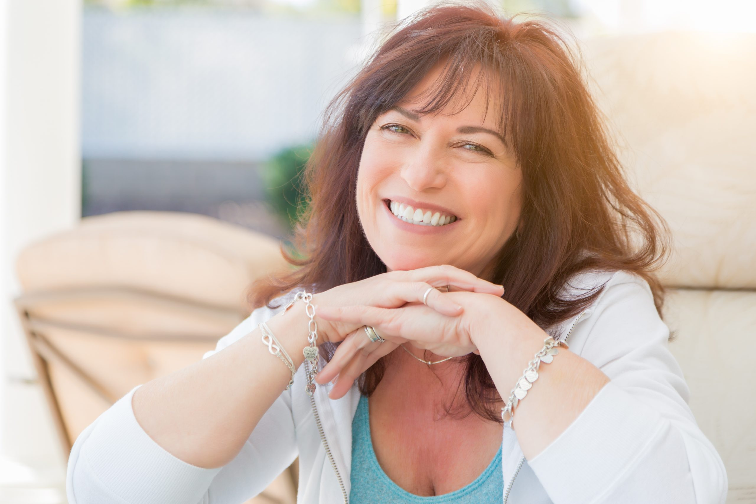 Middle aged women who had menopause treatment